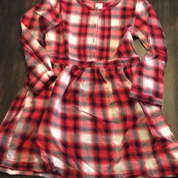 94e9d163acfbd Carter's Dresses | Carters Girls Red Black Plaid Dress Size 6 | Poshmark